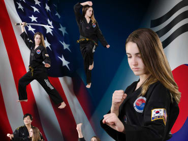 Family Martial Arts  in Lee's Champion Taekwondo Academy