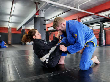 Brazilian Jiu Jitsu in Tri-Force MMA