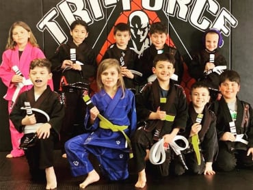 Kids Martial Arts in Tri-Force MMA