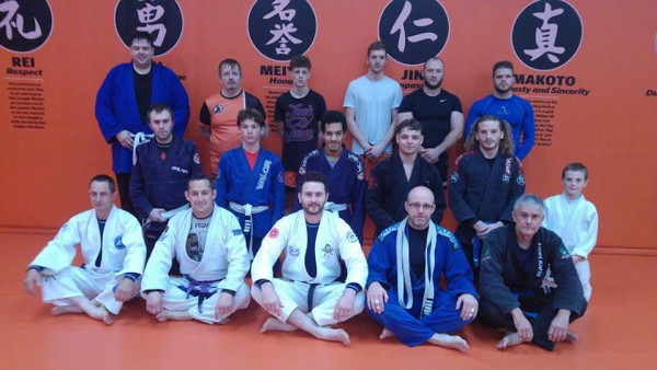 Brazilian Jiu Jitsu in Telford - Kyushinkai Martial Arts & Fitness
