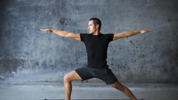 Yoga  in Oak Lawn - Magenta Stars