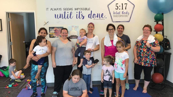 Small Group Fitness in San Jose - 5:17 Total Body Transformations