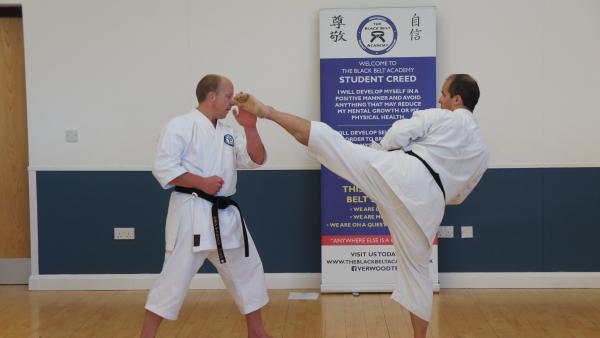 Adult Martial Arts  in Verwood - The Black Belt Academy