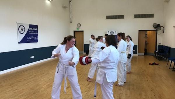 Fitness Kickboxing in Verwood - The Black Belt Academy