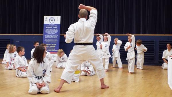 Kids Martial Arts in Verwood - The Black Belt Academy