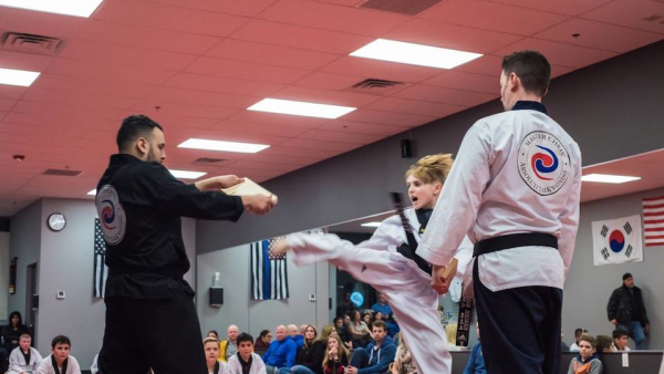 Teen Martial Arts in Wayne - Master Chris' Absolute TaeKwonDo and Alpha Krav Maga