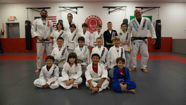 Kids Brazilian Jiu Jitsu near Delray Beach