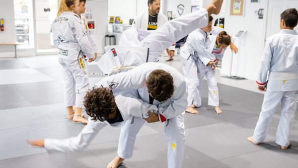 Kids Brazilian Jiu Jitsu near Coral Springs