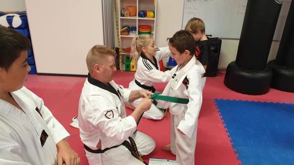 Kids Taekwondo near Ballina