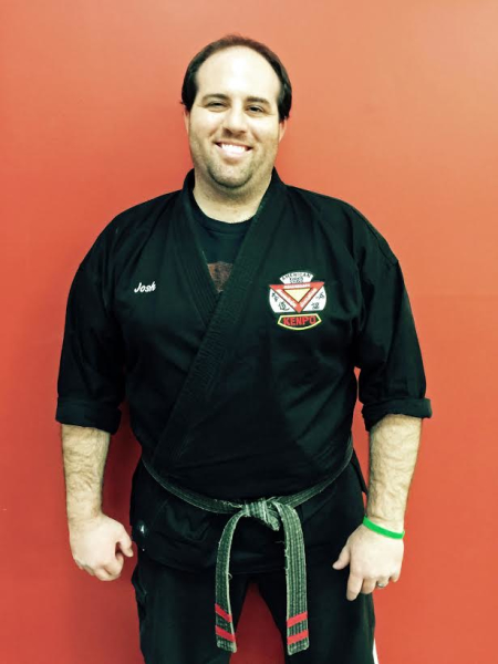 Josh Ostroff in Wilmington - American Karate Studios