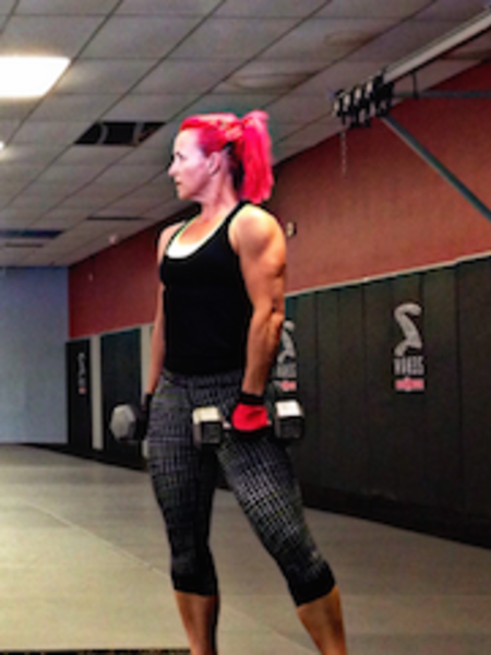 Stephanie O'Rourke in Charleston - Charleston FIT & MMA