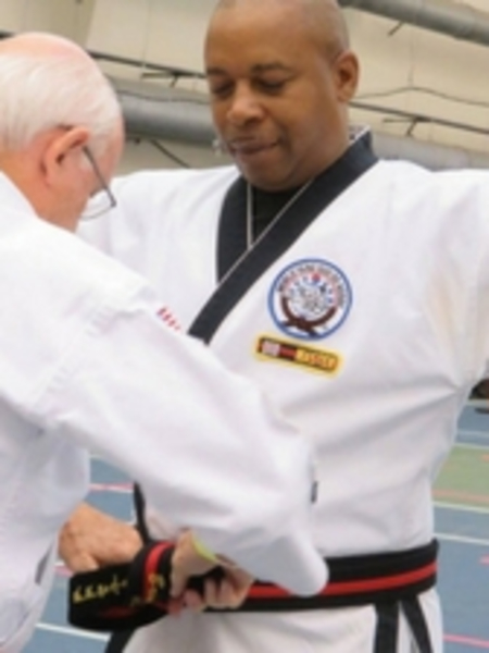 MASTER BRIAN WILLIS, SR.  in Bensalem - Nate Gordon's Black Belt Academy