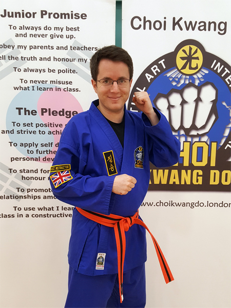 Mr. James Clarke in - Martial Arts and Yoga