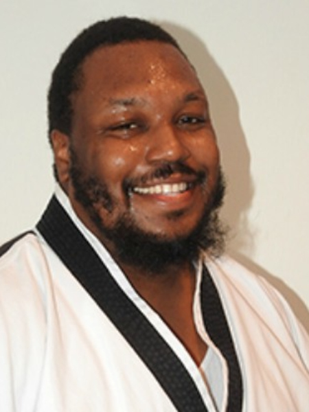 Sempai Rijon Perry in Akron - Zahand's Martial Arts