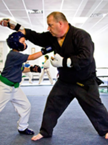 Tim Downey in Bushkill and East Stroudsburg - PA Isshinryu Karate & Self Defense