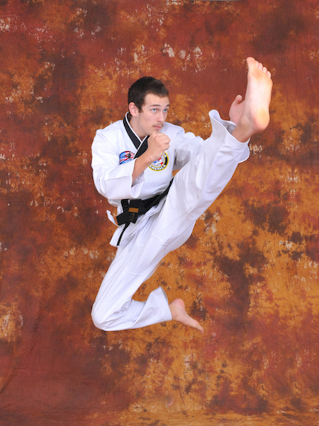 Jeremiah Hitson in Maryville - Church's Taekwondo America