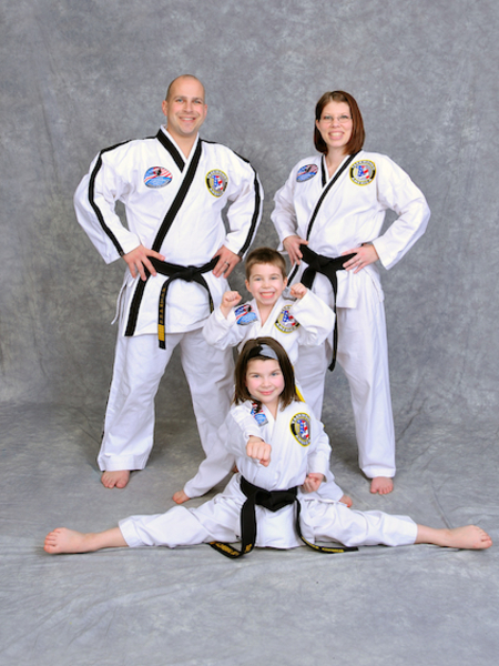 The Church Family in Maryville - Church's Taekwondo America