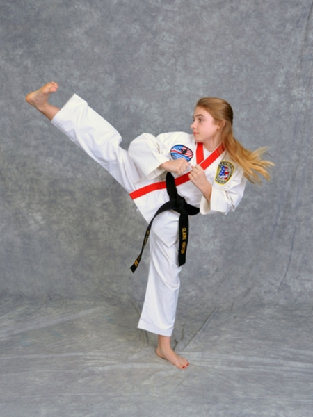 Claire Horton in Maryville - Church's Taekwondo America