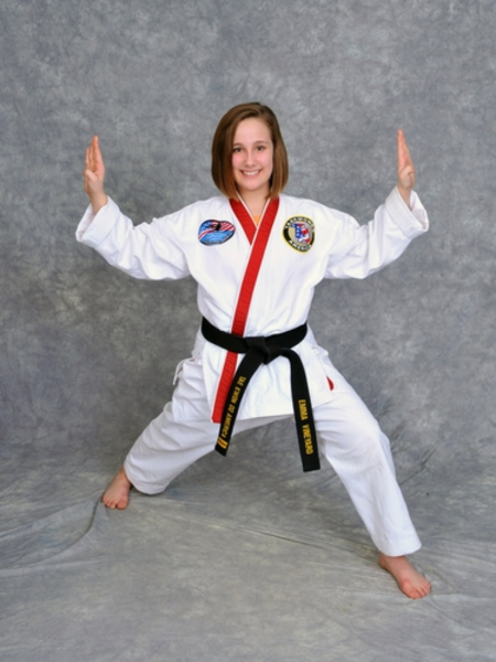 Emma Vineyard in Maryville - Church's Taekwondo America