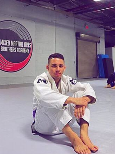 Kyvann Gonzales in Rockaway - Pure Mixed Martial Arts