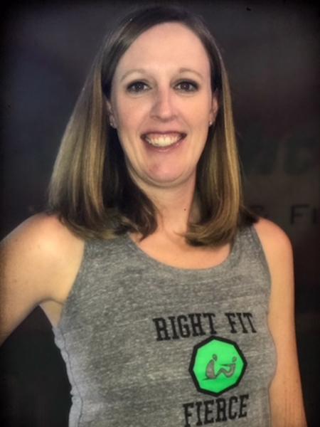 Jennifer McHugh in Shawnee - Right Fit - Fuel & Fitness