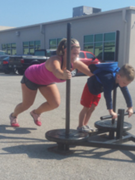 Kelly  in Brandon - CrossFit BNI
