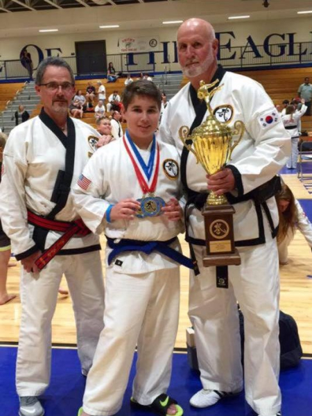 Charles Fasola in Bogalusa - Busby's Family Karate