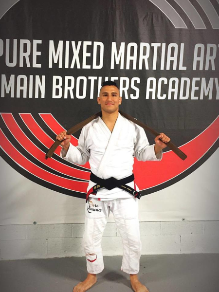 Adrian Luna in Rockaway - Pure Mixed Martial Arts