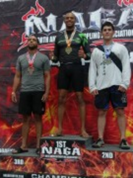 Brandon Brin in Quincy - Trifecta MMA