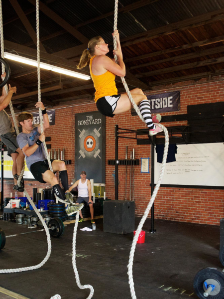 Chrissy Voce in Brandon - CrossFit BNI