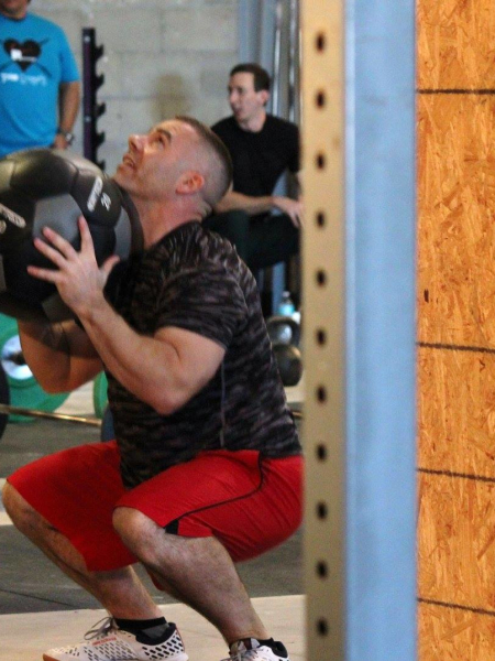 Joe Benoit in Brandon - CrossFit BNI