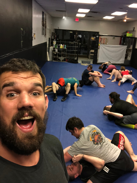 Johnny Buck in Asheville - Rogue Combat Club