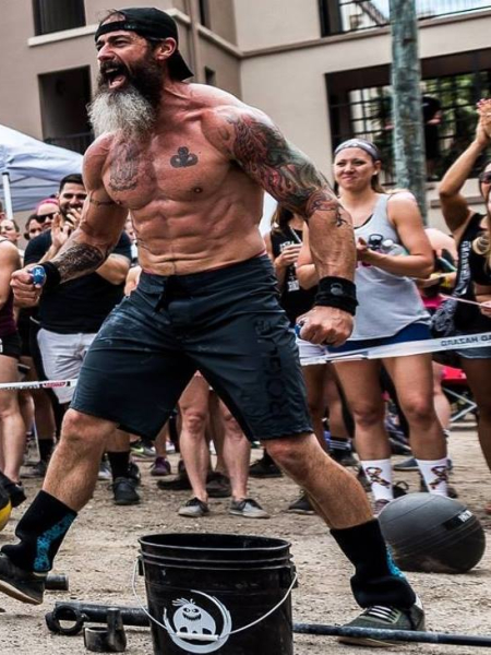Mick Paugh in Brandon - CrossFit BNI