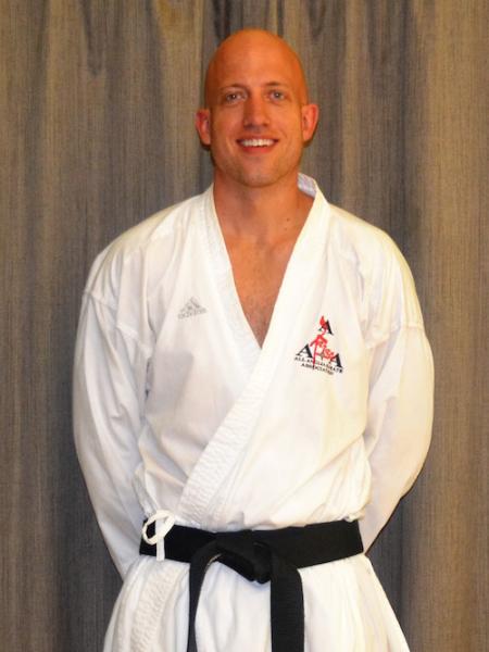Ben Boulton  in Saffron Walden - All Anglia Karate Association