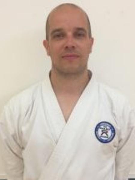 Sensei Andy Woolcott in Verwood - The Black Belt Academy