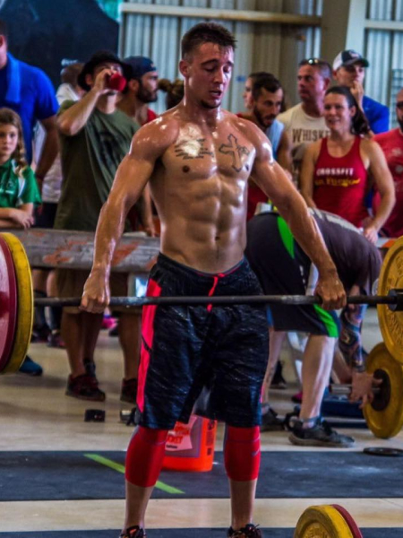 Dylan Parker in Brandon - CrossFit BNI