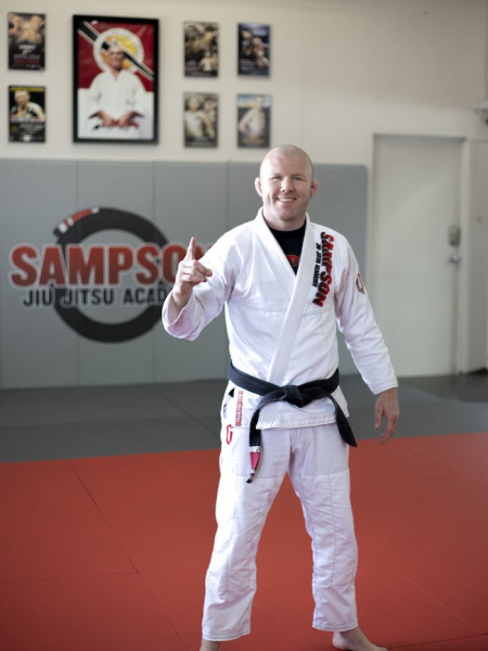 Professor Jason Sampson in 	 Southlake - Sampson Jiu Jitsu Academy