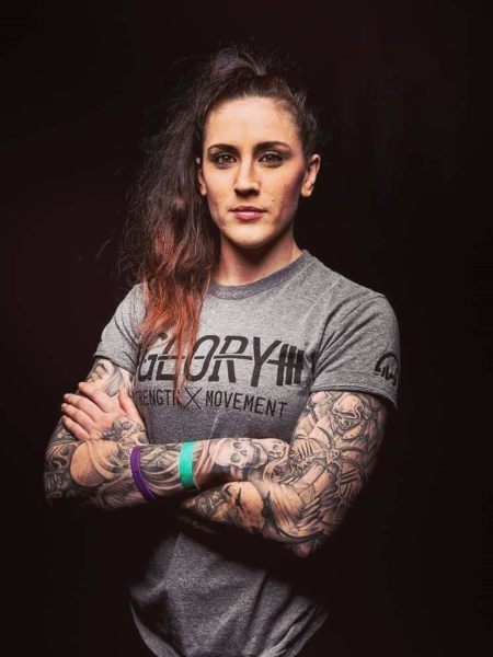 Megan Anderson in Lee's Summit - Glory MMA & Fitness