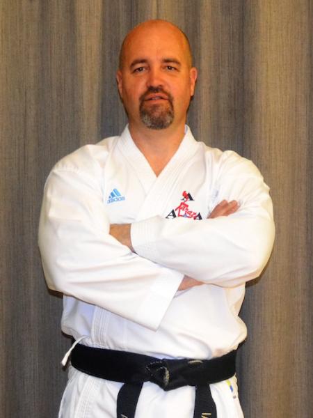 Ian Warren in Saffron Walden - All Anglia Karate Association