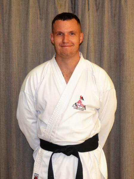 Tom Boulton  in Saffron Walden - All Anglia Karate Association