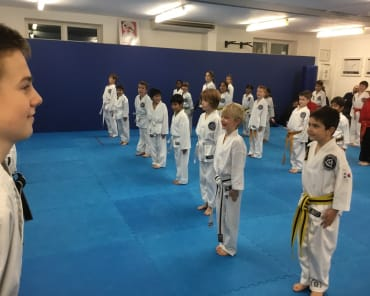 Kids Martial Arts  in Redhill - Ellis Academy