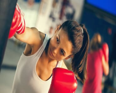 Fitness Kickboxing in Manhasset - Top Gun Self Defense And Fitness