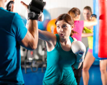 Kickboxing Fitness in Ottawa - Bergeron Martial Arts