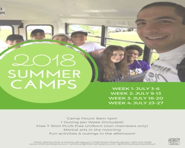 Summer Camps in Ottawa - 100% Martial Arts & Fitness