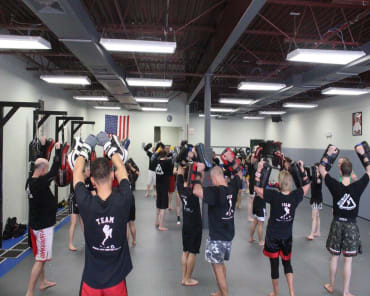 Adult Kickboxing in Nyack  - 5150 Martial Arts