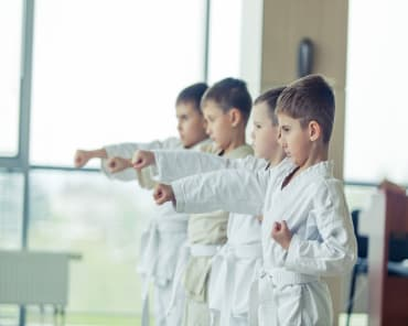Kids Martial Arts  in East Wareham - The Pound Martial Arts
