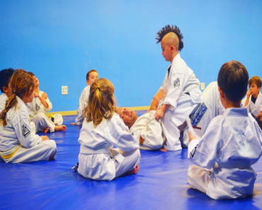 Youth Jiu Jitsu in Huntington Beach - Black Belt Center USA