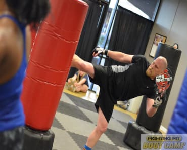 Fitness Kickboxing in Wells Branch - Fighting Fit Boot Camp