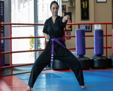 Adult Martial Arts  in Bedford Hills - Marti Martial Arts Academy