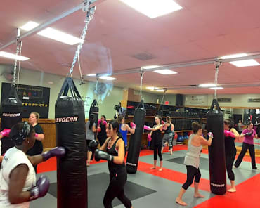 Fitness Kickboxing in Coventry - Northeast Family Martial Arts